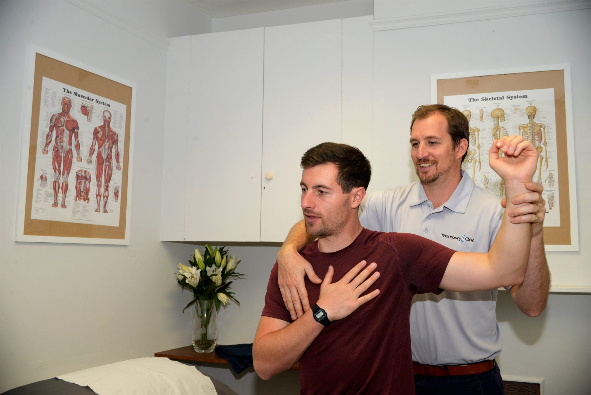 Shoulder pain, Sports injury, Treatment